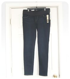 Kut from the Kloth Maternity Jean- I prefer full belly panel, but I could definitely use skinnies