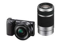 Refurbished Sony Alpha NEX-5TL 16.1MP Camera w/ 16-50mm Zoom Lens & Flash for $399.99