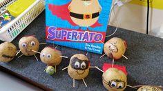 Supertato! Potato Heads, Linnet, Potatoes, Food, Potato, Essen, Meals, Yemek, Mr Potato Head