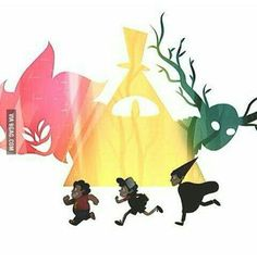Steven Universe, Gravity Falls, Over The Graden Wall, together *-* - 9GAG