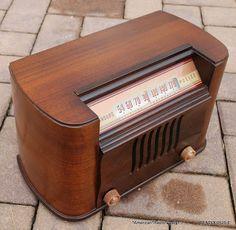 *American*Radio*Design* - Greg Mercurio - Deco-Mid Century, Retro Styled Vintage Tube Radios   : BENDIX O526 E NEW OLD STOCK TUBE RADIO       CHASS...