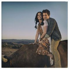 Katy Perry and John Mayer Who you love music video