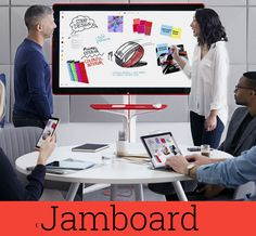 Crea y aprende con Laura: Jamboard, la nueva pizarra colaborativa de Google ... Colorful Interiors, Minimalism, Exterior, Desk, Google, Blog, Home Decor, Smileys, Clouds