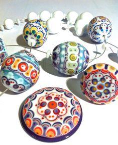 UNIKAL Glasperlendesign: contact- bead & ring top