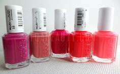 ESSIE: Big Spender, In Stitches, Exotic Liras, Too Too Hot, Cute As a Button