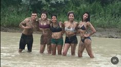 Have a mud fight!!!! Done!!!!:)