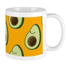 0ae0c53221 Avocado Pattern Mugs on CafePress.com Sell On Amazon, Avocado, Mugs, Pattern