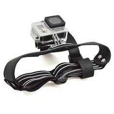 Arnes De Cabeza Correa Para Camara GoPro Hero 4,3+,2,1 SJ4000 GP117 - http://complementoideal.com/producto/arnes-de-cabeza-para-gopro-gp117/  - La  correa ajustable para la cabeza para cámaras deportivas GoPro Hero es la mejor forma de grabar tus aventuras en vídeo y poder reproducirlas posteriormente en primerísima persona.  Además, estos vídeos son muy valorados tanto por los familiares y amigos como por los usuarios de Youtube.  Esp...