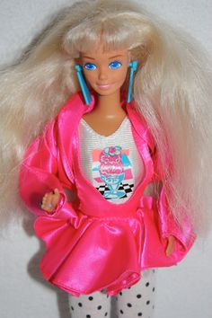 Vintage 1980's Rocker Blond Barbie Doll with by gifthorsevintage, $89.00