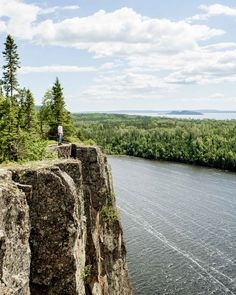 Tbay adventures : sleeping giant, ouimet canyon & ruby lake added to bucket list. Blasted by winds over Lake Superior, Ruby Lake Provincial Park Travel English, Lake Superior, Canoe, Thunder, Bucket, Earth, Adventure, Places, Buckets