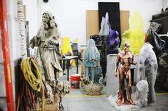 Nick Van Woert's studio