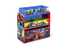 Nick Jr. Blaze and The Monster Machines Toy Organizer