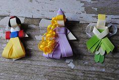 Ribbon Sculpture Clippies