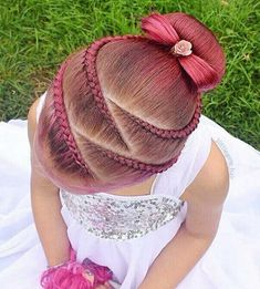 hairstyles little girl hairstyles crown hairstyles blonde hairstyles indian for braided hairstyles hairstyles straight hair hairstyles prom braided hairstyles Little Girl Braid Hairstyles, Little Girl Braids, Braided Ponytail Hairstyles, Baby Girl Hairstyles, Girls Braids, Pretty Hairstyles, Dance Hairstyles, School Hairstyles, Hairstyles 2018