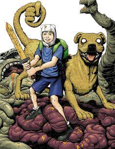 Jake el perro y Finn el humano