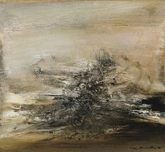 Zao Wou-Ki (Chinese/French, 1920-2013), 04.02.65, 1965. Oil on canvas, 46 x 50 cm.