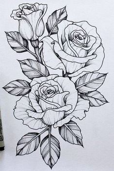 Should add this piece to my skull n rose tattoo .-Sollte dieses Stück zu meinem Schädel n Rose Tattoo hinzufügen … Tatowierung – flower tattoos designs This piece should go with my skull n rose tattoo add tattoo - Tattoo Design Drawings, Flower Tattoo Designs, Art Drawings, Tattoo Flowers, Rose Drawings, Rose Drawing Tattoo, Tattoo Roses, Daisies Tattoo, Rose Tattoo Leg