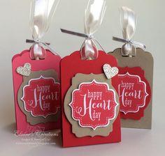 Elaine's Creations: Valentine's Lollipop Treat Tag Holders