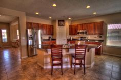 Kitchen at 221 Valle Alto Drive NE Rio Rancho New Mexico Home for Sale
