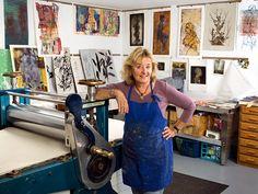 Spotted Dog Printmaking Studios of Ojai, California