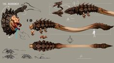 Sci-Fi take on Grendel from the classic Beowulf and Grendel. Re-imagined him as a larval alien creature the spends this stage of it's life living in boiling sulfurous water. Gameplay mechanics insp...
