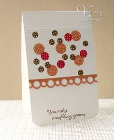 Card by Sarah Gough using Verve Stamps.  #vervestamps