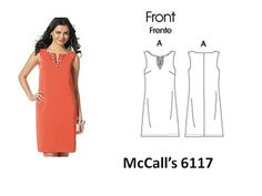 easy to sew McCalls 6117