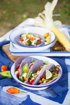100 % Végétal: Tacos d'aubergines
