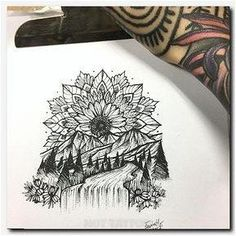 Ideas Tattoo Forearm Girl Mandala Tatoo For 2019 Hand Tattoos, Feather Tattoos, Forearm Tattoos, Body Art Tattoos, New Tattoos, Bicep Tattoo Women, Tattoos Pics, Tatoos, Female Forearm Tattoo