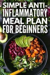 21 Day Anti Inflammatory Diet For Beginners Looking For An Anti Inflammatory Meal Plan Anti Inflammatory Diet Recipes Inflammation Diet Healthy Diet Recipes