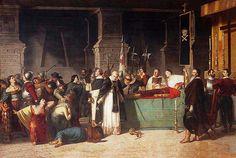Luis Montero. Los funerales de Atahualpa, 1865 - 1867 Óleo sobre lienzo, 350 x 430 cm Préstamo Pinacoteca Municipal de Lima Ignacio Merino