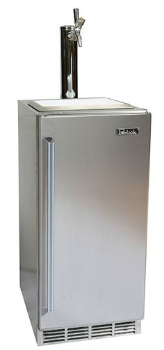 15 inch outdoor series from Perlick, with beer dispenser - made for those manly outdoor BBQs