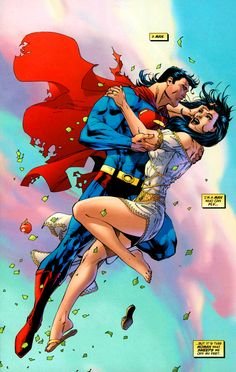 Superman Man of Steel Lois Lane Romance Jim Lee DC Comics Superheroes Superhero