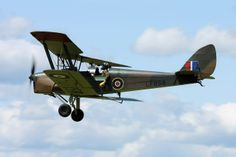 de Havilland DH.82b Queen Bee by namelessfaithlessgod.deviantart.com on @deviantART
