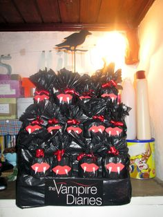 D.i.y the vampire diaries party bags