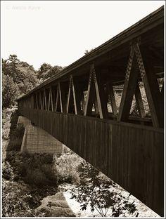 Covered  bridge in Littleton, NH