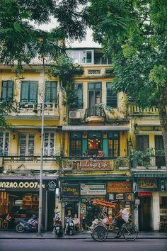 Saigon Vietnam, City Scene, Urban Life, Mansions, Street, House Styles, Manor Houses, Villas, Mansion