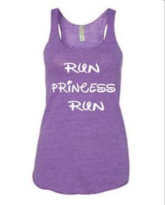 Run Disney -Tinker Bell - Women's running tank. This tank top can be part of your Tinker Bell dress up for any run Disney race. Choose your color combinations. Cute Workout Tanks, Workout Shirts, Disney Princess Half Marathon, Workout Attire, Workout Gear, Workouts, Workout Style, Workout Plans, Disney Tank Tops