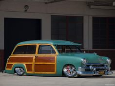 Bringing you the best in classic muscle cars and other exceptional automobiles Ford Classic Cars, Classic Trucks, Vintage Racing, Vintage Cars, Station Wagon Cars, Woody Wagon, Best Muscle Cars, Hot Rod Trucks, Car Ford