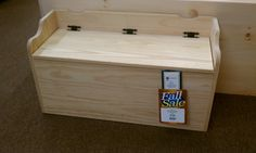 How to Build a Toy Chest Plans