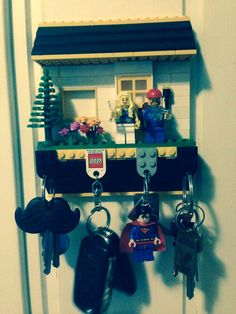 Lego key-holder..