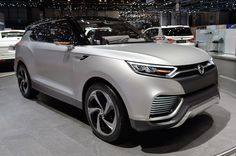 The SsangYong XLV Concept shows a new look for the Korean brand