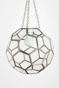 Honeycomb Glass Pendant