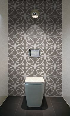 Make a striking statement in your toilet
