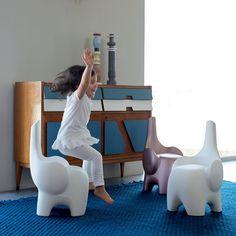 Tino: asiento y escultura / Post by Inou Mobiliario