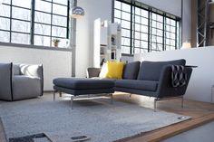 Vitra Suita sofa tweezitter in de showroom #woonwinkel #Zaandam #design
