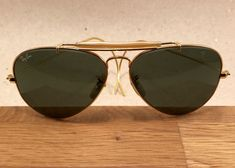 Vintage Ray Ban Outdoorsman Cable Arista General 58 [] 14 B&L Bausch Lomb USA