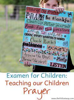 Nightly Examen with Children • Good Enough Catholic