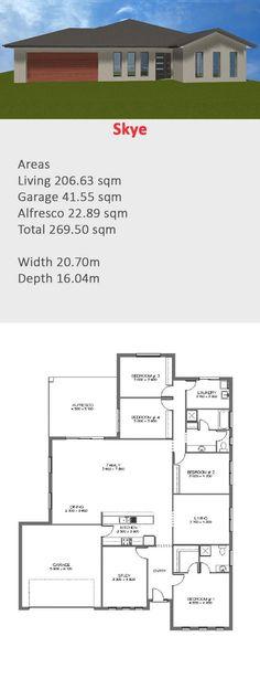 4 bedroom home - coast to coast homes skye houseplan
