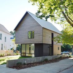 Graduate students at the Yale School of Architecture have unveiled contemporary, wooden home that they claim could be a solution for low-income neighborhoods.  Part of the school's Jim Vlock Building Project – a program focused on low-cost homes in low-income areas of New Haven – the 1,00